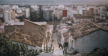 El poble de Badia del Vallés des d'un mirador
