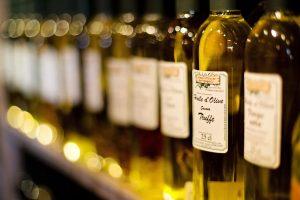 Selecció d'oli d'oliva