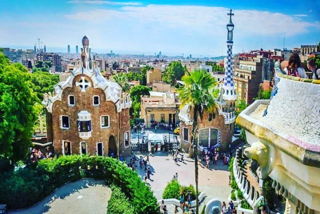 Wow! What a masterpiece! parkguell