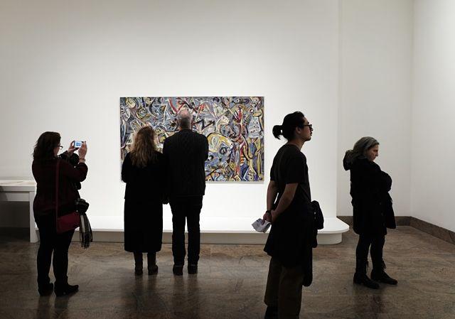 Art exposat a una galería