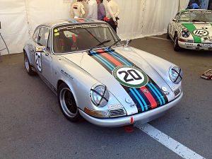 Porsche 911 exposat en el esdeveniment Esperit de Montjuïc