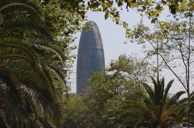 fotos torre agbar barcelona