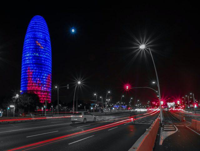 la torre agbar barcelona