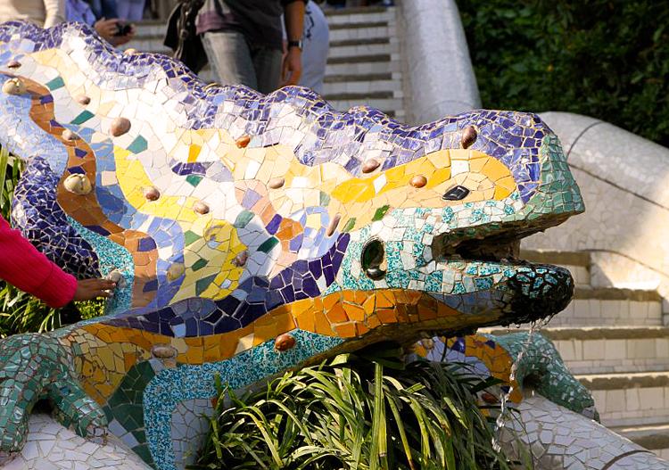 Parc guell salamandre
