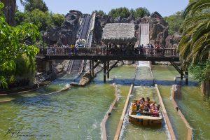 Atraccions aquàtiques al parc d'atraccions