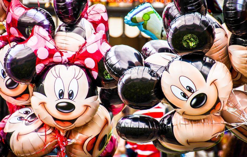 Globus de caràcters de Disney