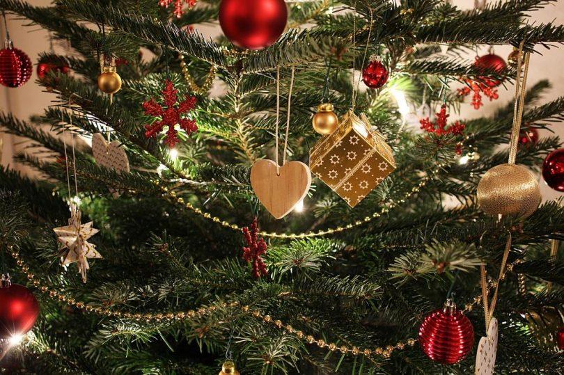 Arbre de nadal decorat
