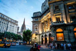 Imatge de la ciutat de Barcelona