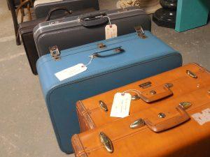 Diverses maletes etiquetades