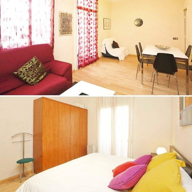 Heres one of our beautiful apartments in Barcelona It ishellip