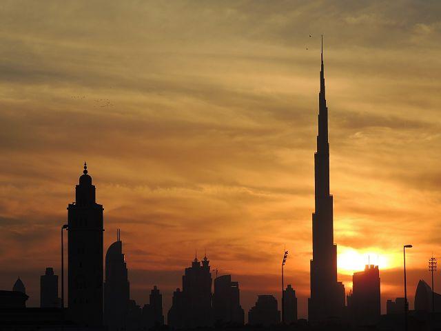 Edifici Burj Khalifa, el més alt del món