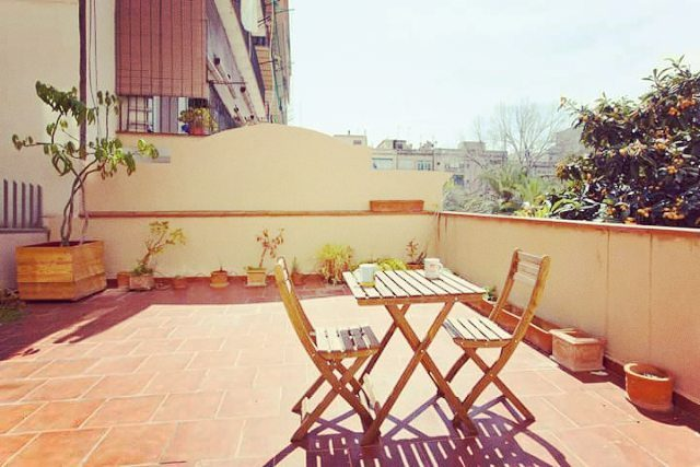 Sweet terrace in Barcelona What do you think about it?hellip