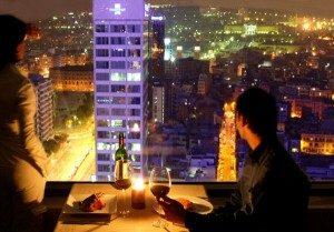 Sopar amb vistes a la ciutat