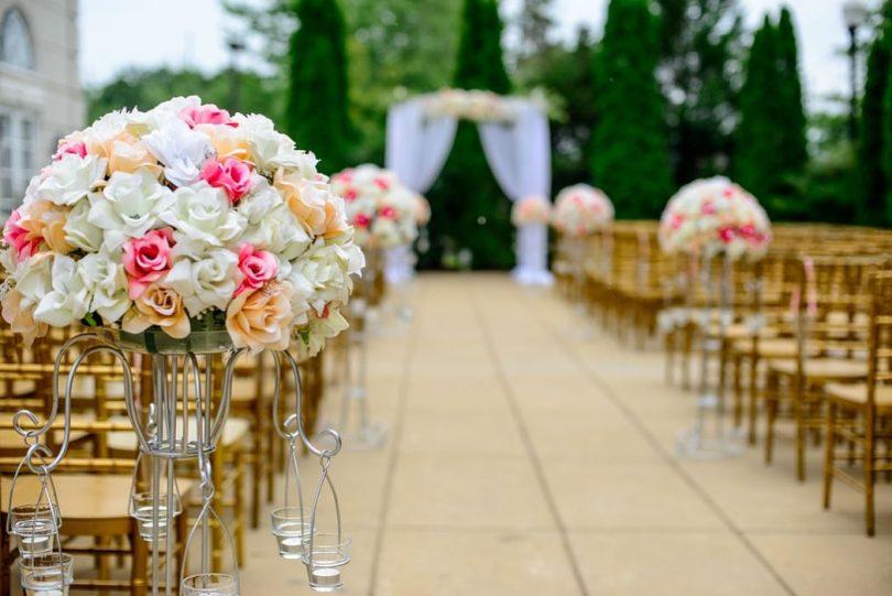 Casament personalitzat a l'aire lliure