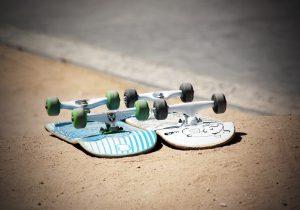 on anar amb skate a Barcelona