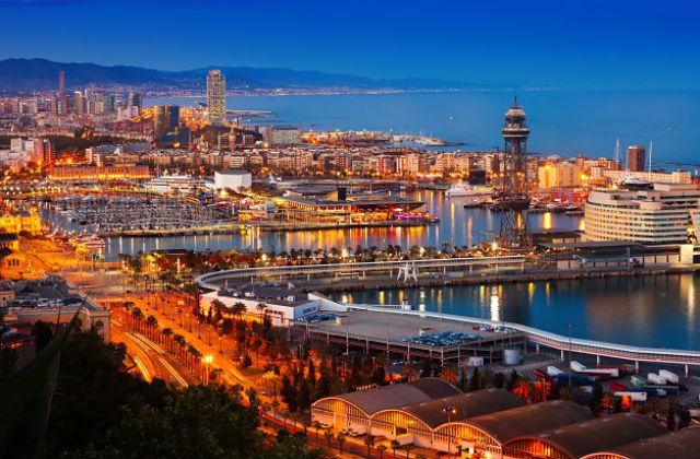 Vistes al Port Vell de Barcelona