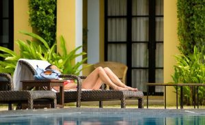 Relax a la piscina