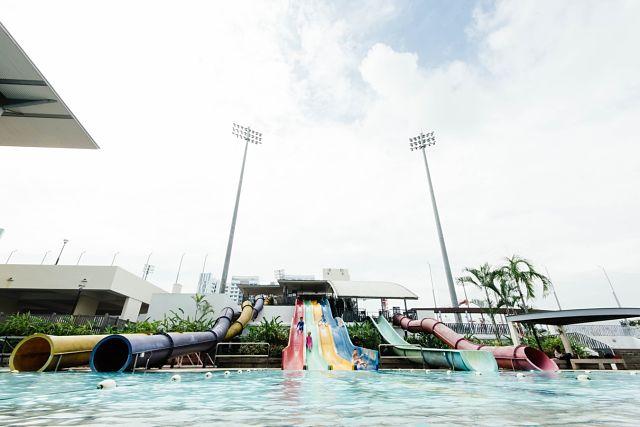 Atraccions d'un parc aquàtic