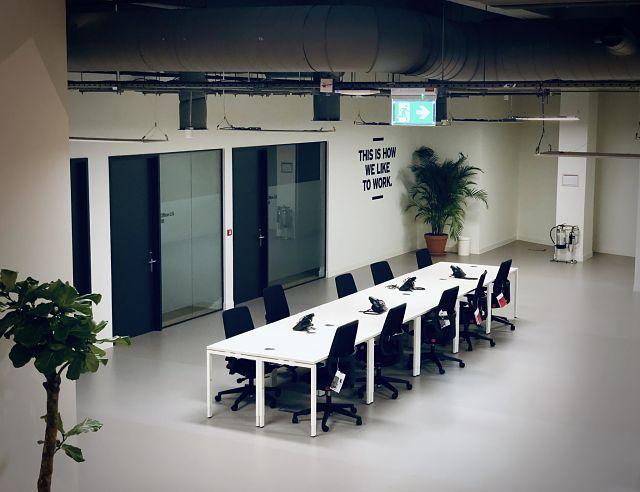 Sala de reunions a una oficina
