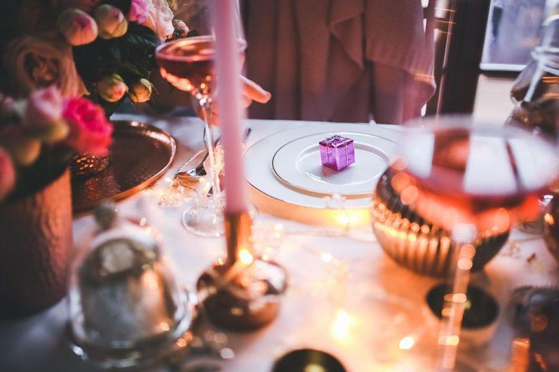 Decoració taula sopar de Nadal