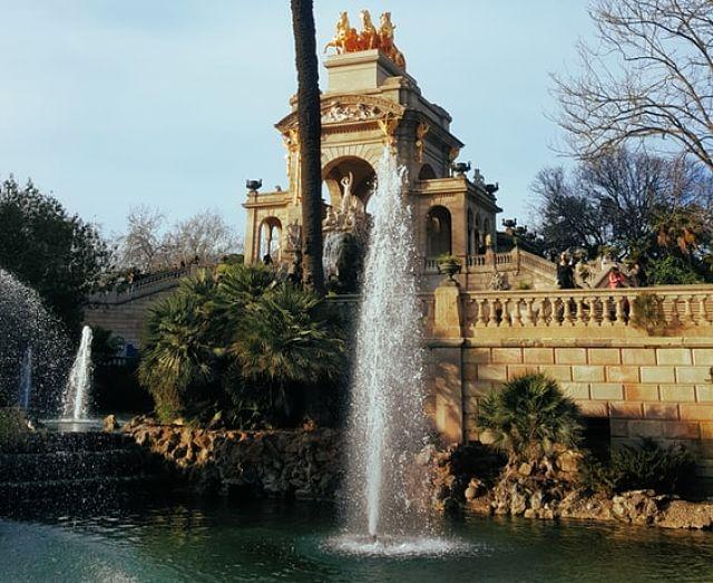 Imatge de la Font del Parc de la Ciutadella