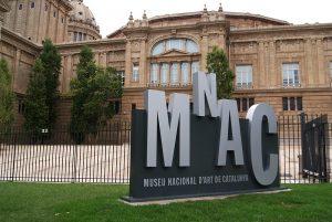 Exterior del Museu Nacional d'Art de Catalunya