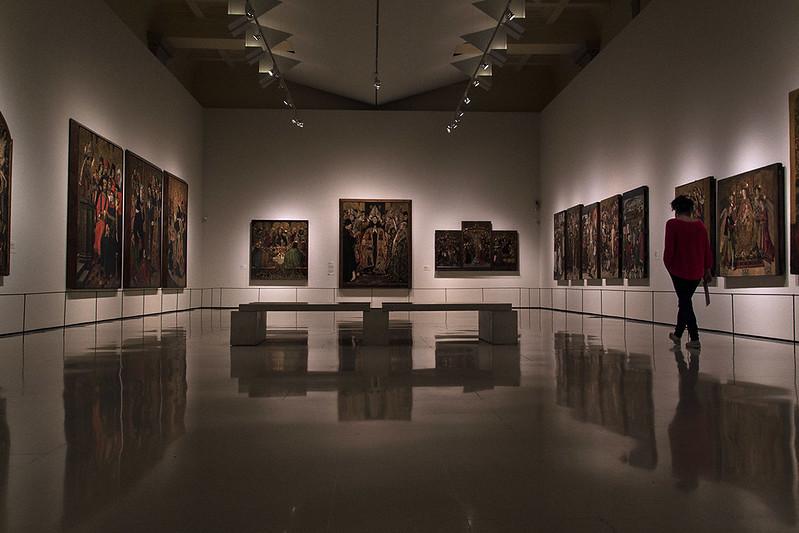 Exposició al Museu Nacional d'Art de Catalunya