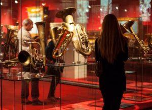Instruments exposats al Museu de la Música