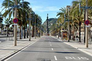 Passejant per la ciutat de Barcelona