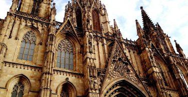 Façana de la Catedral de Barcelona