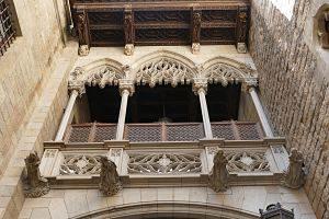 Un dels edificis més populars del Barri Gòtic de Barcelona