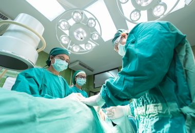 Operació al quiròfan