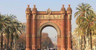 Imatge de l'Arc de Triomf de Barcleona