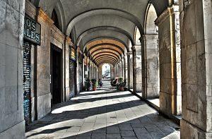 Imatge d'un carrer de Barcelona