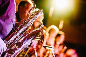Concert a l'aire lliure d'una orquestra