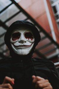 Disfressa de terror per a Halloween