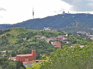 Imatge d'Horta-Guinardó des del turó de la Rovira