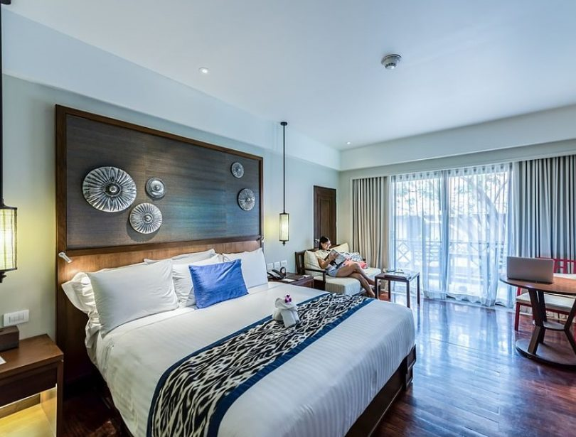 Habitació de luxe a un hotel exclusiu