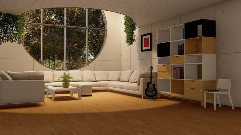 Casa decorada en un estil modern i exclusiu