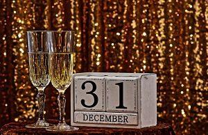 Copes de cava per celebrar el 31 de desembre