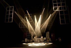 Escenari d'una obra de teatre