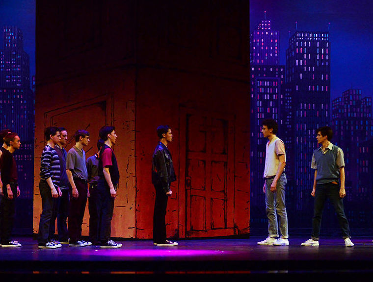 Representació obra West Side Story