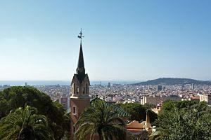 Vista de Barcelona des del Park Güell