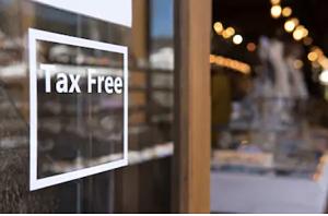 Botiga que inclou el sistema de Tax Free
