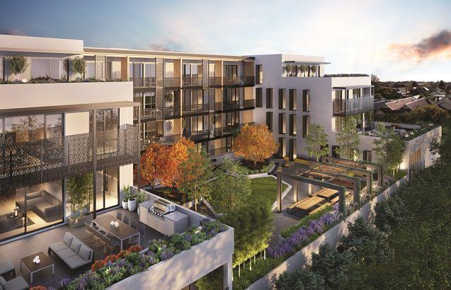 Bloc d'apartaments de luxe