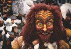 Persona disfressada al Carnaval