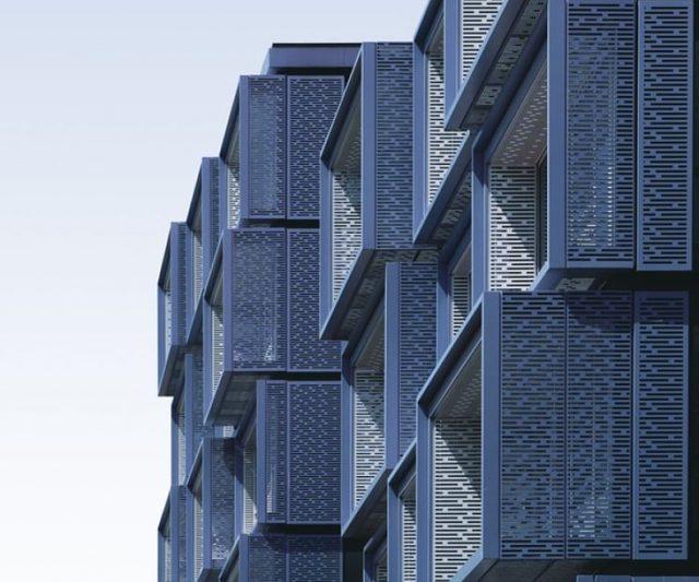 Apartament prefabricat futurista