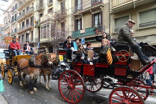 Cavalcada de Sant Medir a Gràcia