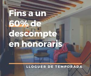 lloguer de pisos per mesos a barcelona