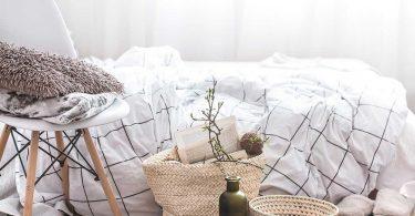 llit decoració de tardor